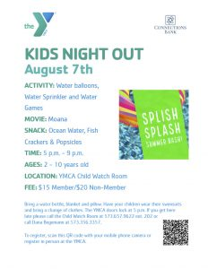 YMCA Kid's Night Out @ YMCA Child Watch Room