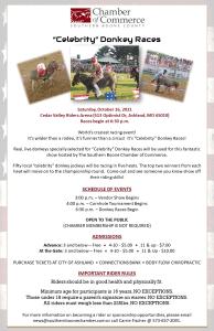 Celebrity Donkey Races @ Cedar Valley Riders Arena